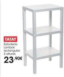Oferta de Estanterías Tatay por 23,9€