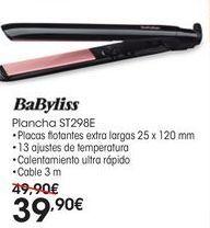 Oferta de Plancha de pelo Babyliss por 39,9€