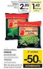 Oferta de Congelados Findus por 2,85€