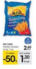 Oferta de Patatas fritas congeladas McCain por 2,6€
