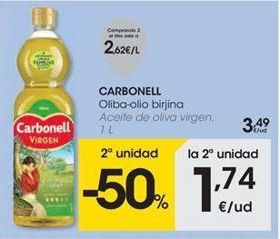 Oferta de Aceite de oliva virgen Carbonell por 3,49€