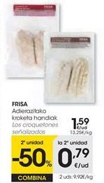 Oferta de Croquetas Frisa por 1,59€
