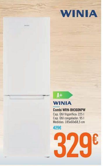Oferta de Combi WRN-BH360NPW WINIA por 329€