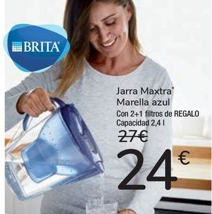 Oferta de Jarra Maxtra Marella azul por 24€