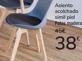 Oferta de Asiento acolchado simil piel  por 38€