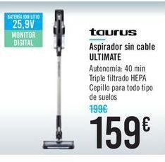 Oferta de Aspirador sin cable ULTIMATE Taurus por 159€