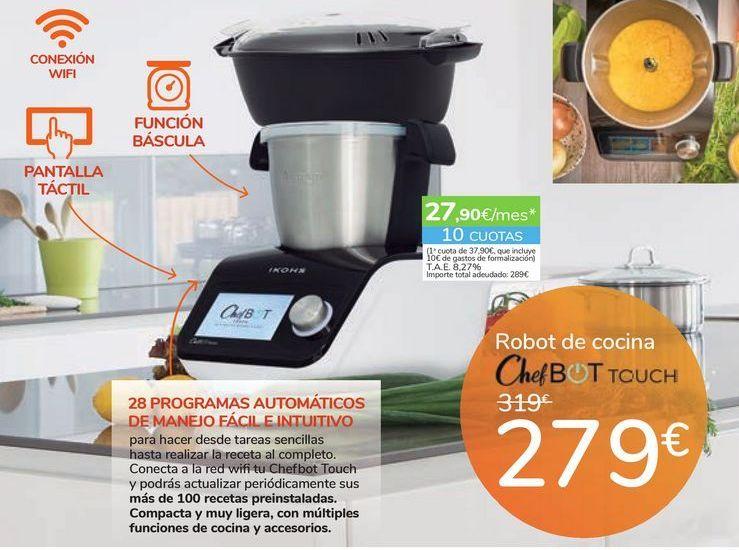 Oferta de Robot de cocina ChefBOT TOUCH por 279鈧�