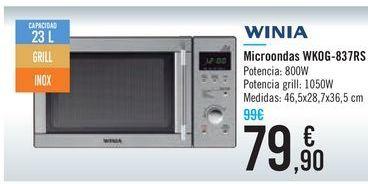 Oferta de Microondas WKOG-837RS WINIA por 79,9€