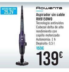 Oferta de Aspirador sin cable RH9159W0 ROWENTA por 139€