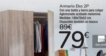 Oferta de Armario Eko 2P  por 79€