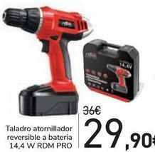 Oferta de Taladro atornillador reversible a bateria  por 29,9€