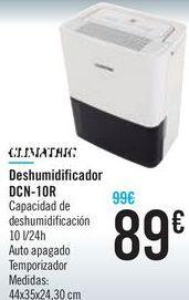 Oferta de Deshumidificador DCN-10R  por 89€