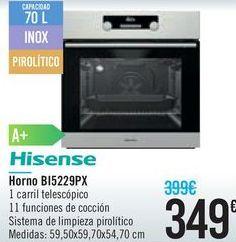 Oferta de Horno B15229PX  por 349€