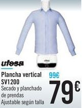 Oferta de Plancha vertical SV1200 Ufesa por 79€