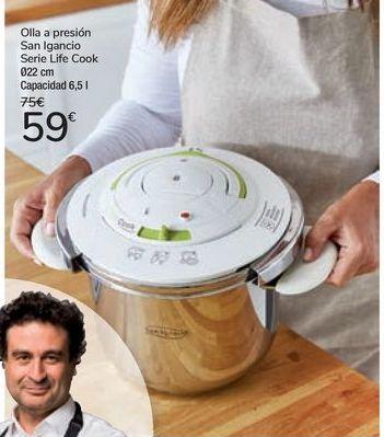 Oferta de Olla a presión San Ignacio Serie Life Cook por 59€