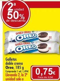 Oferta de Galletas Oreo por 1,49€