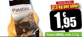 Oferta de Patatas Unide por 1,95€