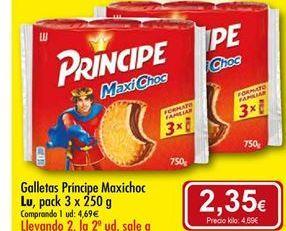 Oferta de Galletas Príncipe Lu por 4,69€