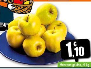 Oferta de Manzana golden por 1,1€