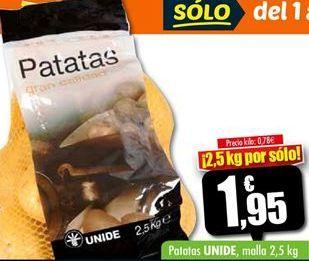 Oferta de Patatas por 1,95€