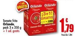 Oferta de Tomate frito Orlando por 1,79€