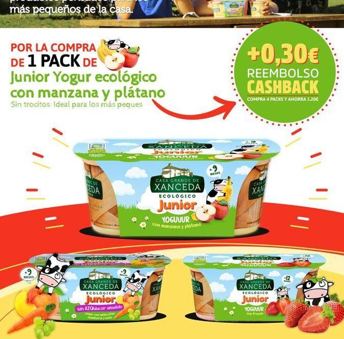 Oferta de Yogur infantil xanceda por