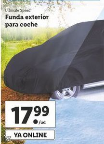 Oferta de Fundas para coche ultimate speed por 17,99€