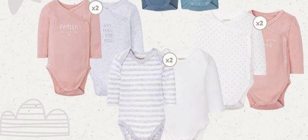 Oferta de Body bebé/Bodys cruzados  Lupilu por 5,99€