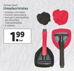 Oferta de Limpiacristales ultimate speed por 1,99€