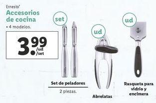 Oferta de Accesorios de cocina ernesto por 3,99€