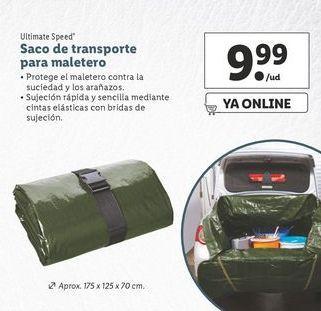 Oferta de Saco de transporte para maletero ultimate speed por 9,99€
