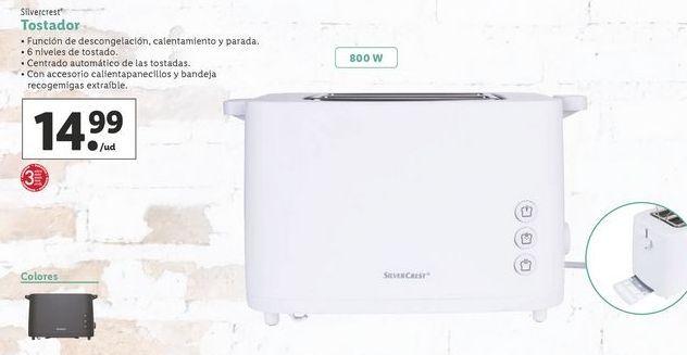 Oferta de Tostadora SilverCrest por 14,99€
