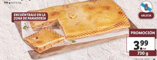 Oferta de Empanada gallega de atún cocida   por 3,99€