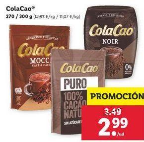 Oferta de Cacao Cola Cao por 2,99€