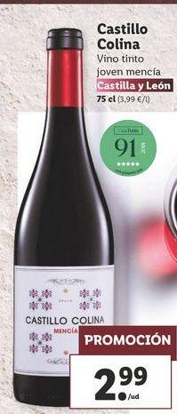 Oferta de Vino tinto Castillo colina  por 2,99€