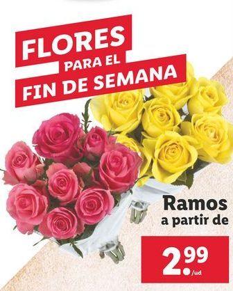 Oferta de Ramos de flores por 2,99€