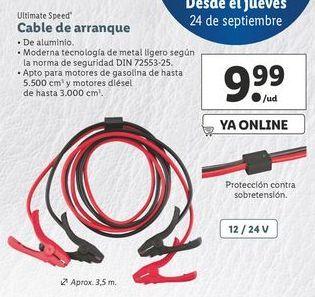 Oferta de Cable de arranque ultimate speed por 9,99€