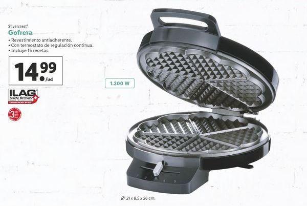 Oferta de Gofrera SilverCrest por 14,99€