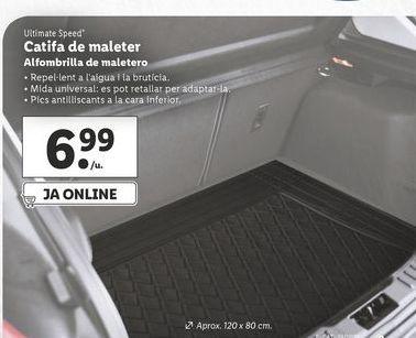 Oferta de Alfombrillas de maletero ultimate speed por 6,99€