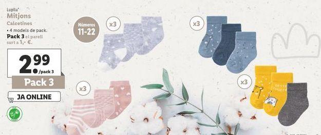 Oferta de Calcetines Lupilu por 2,99€