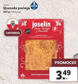 Oferta de Quesada pasiega Joselin por 3,49€