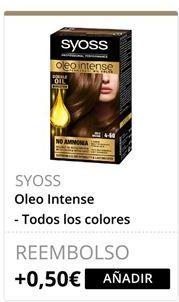 Oferta de Oleo Intense SYOSS  por