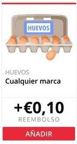 Oferta de Huevos Cualquier marca  por