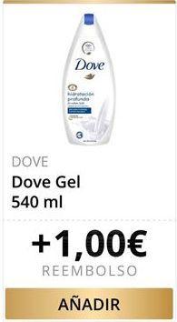 Oferta de Dove Gel por