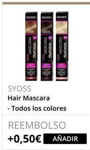 Oferta de SYOSS Hair Mascara  por