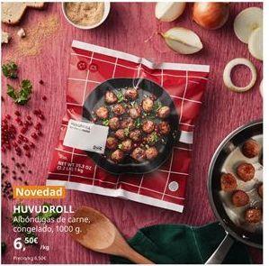 Oferta de Albóndigas de carne por 6,5€