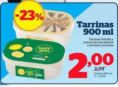 Oferta de Tarrina de helado por 2€