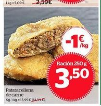 Oferta de Patatas por 13,99€