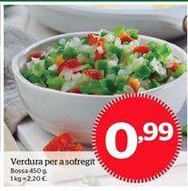 Oferta de Verdura por 0,99€
