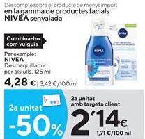 Oferta de Desmaquillante Nivea por 4,28€